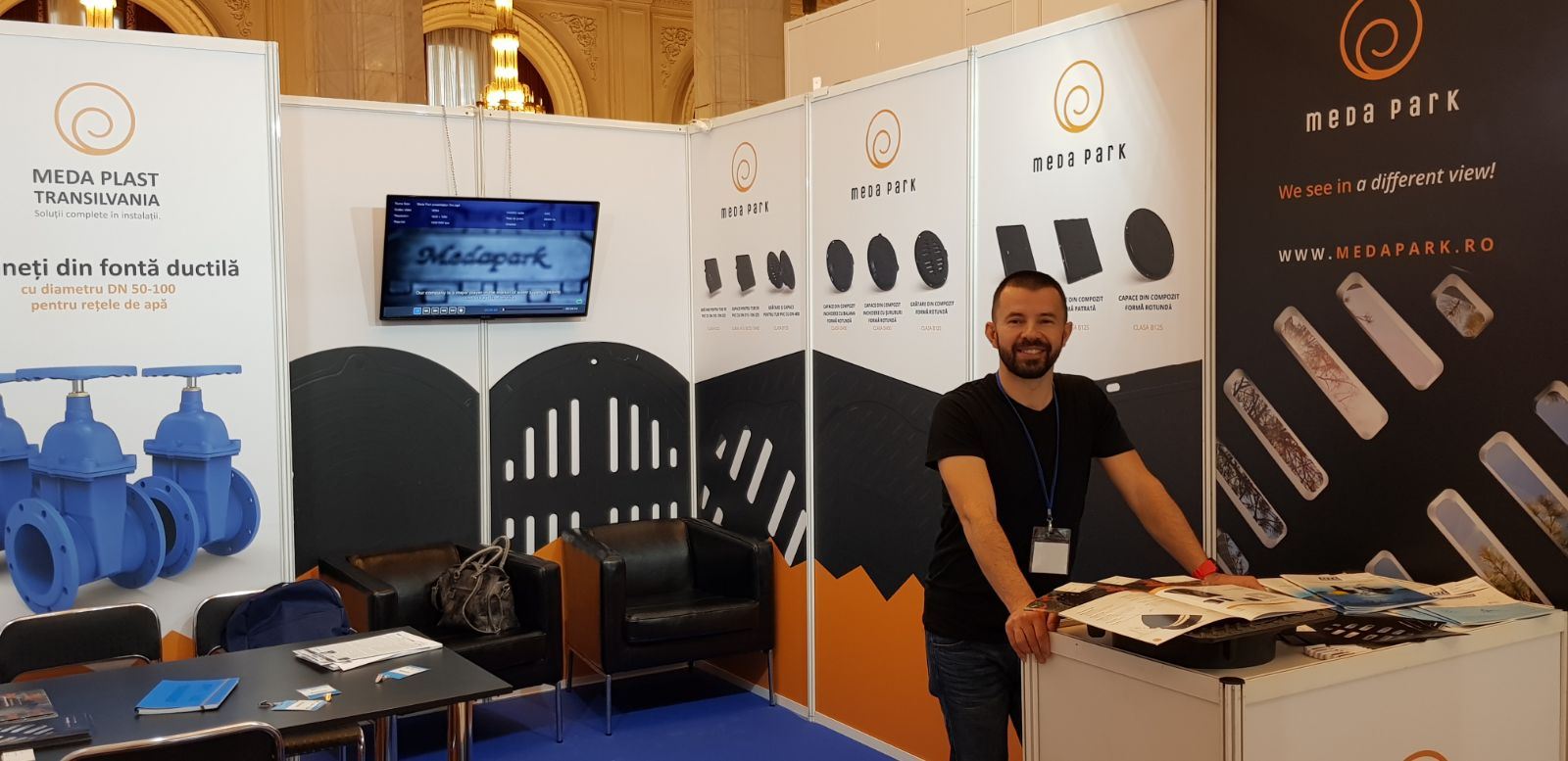 We participate at Expoapa 2018, 14 - 16 May, Bucharest
